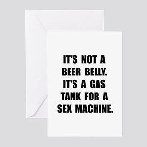 Beer Belly Greeting Cards (Pk of 20)
