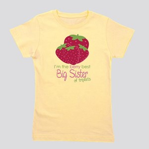 Berry Sister Triplets Girl's Tee