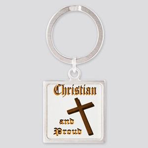 PROUD CHRISTIAN Keychains