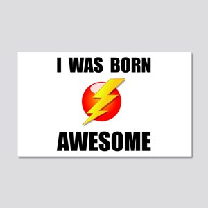 Born Awesome Wall Decal