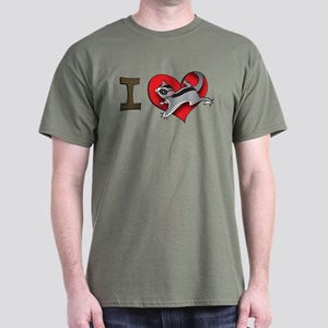 I heart sugar gliders Dark T-Shirt