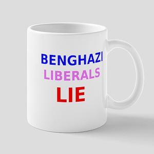 Benghazi Liberals Lie Mug