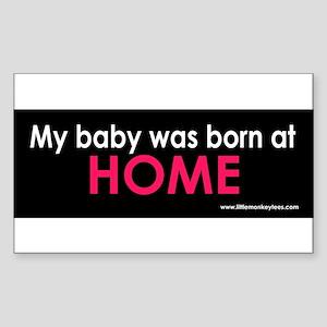 b-Born at home Sticker