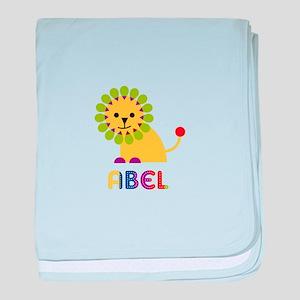 Abel Loves Lions baby blanket