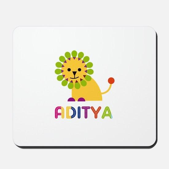 Aditya Loves Lions Mousepad