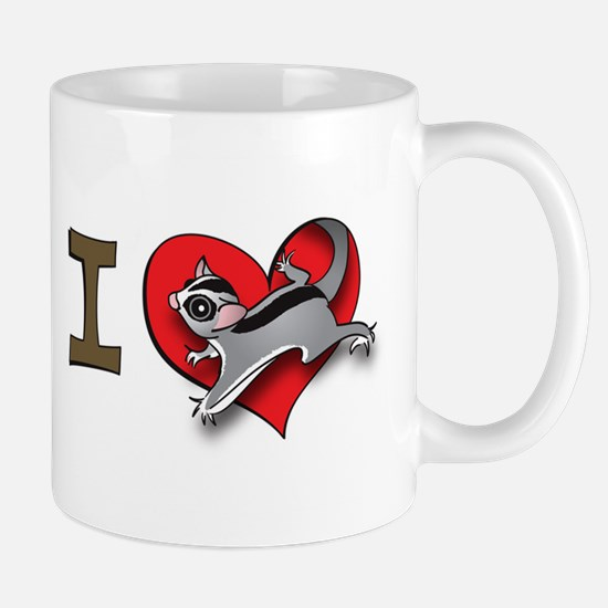 I heart sugar gliders Mug