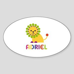Adriel Loves Lions Sticker