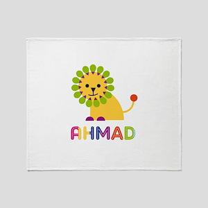 Ahmad Loves Lions Throw Blanket