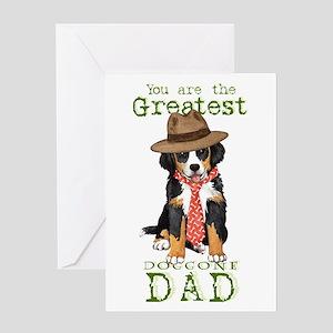 Berner Dad Greeting Card