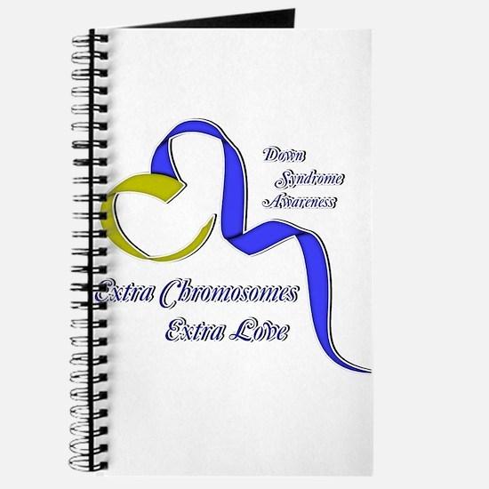 Down Syndrome Awareness Ribbon Journal