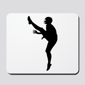 Football Silhouette Mousepad