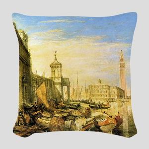 William Turner Venice Woven Throw Pillow