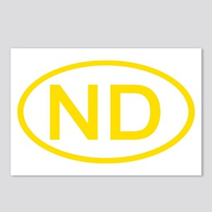 ND Oval - North Dakota Postcards (Package of 8)