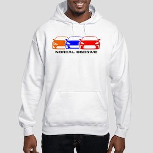 Norcal 86 Drive Light Color Hooded Sweatshirt