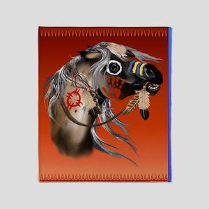 War Horse Trans Throw Blanket