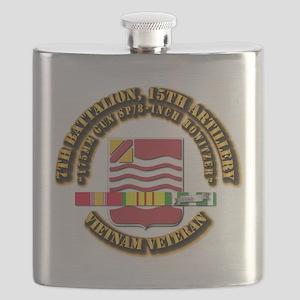 7th Battalion, 15th Artillery Flask