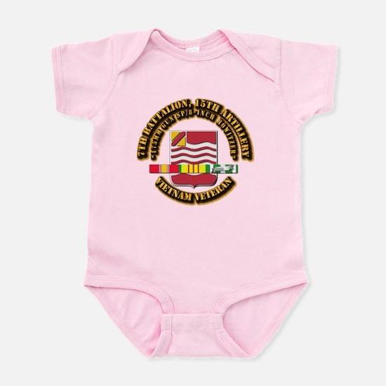 7th Battalion, 15th Artillery Infant Bodysuit