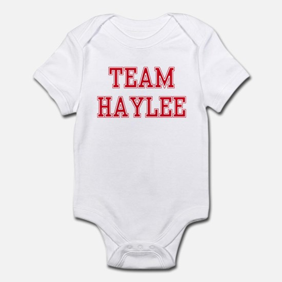 TEAM HAYLEE  Infant Bodysuit