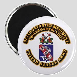 COA - Infantry - 327th Infantry Regiment Magnet