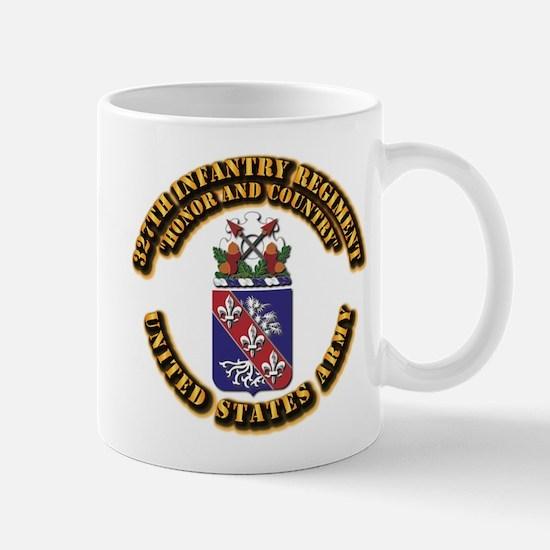 COA - Infantry - 327th Infantry Regiment Mug