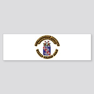 COA - Infantry - 327th Infantry Regiment Sticker (