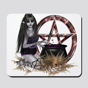 Wiccan Pentacle Mousepad