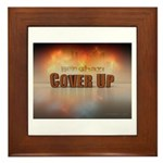 Benghazi Cover Up Framed Tile