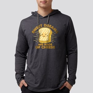 Sweet Dreams Grilled Cheese Mens Hooded Shirt