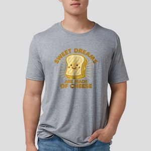 Sweet Dreams Grilled Cheese Mens Tri-blend T-Shirt