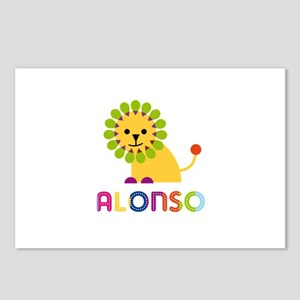 Alonso Loves Lions Postcards (Package of 8)