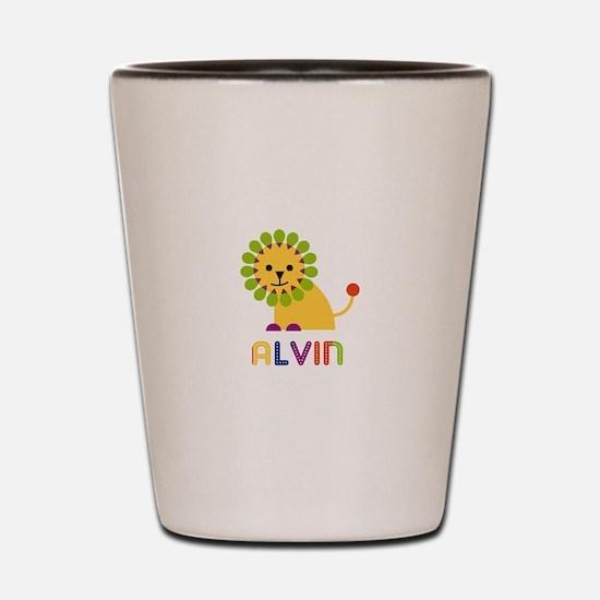Alvin Loves Lions Shot Glass