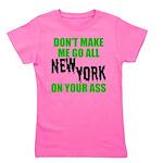 New York Football Girl's Tee