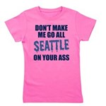 Seattle Football Girl's Tee