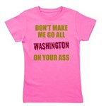 Washington Football Girl's Tee