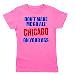 Chicago Baseball Girl's Tee