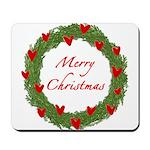 Christmas Wreath Mousepad