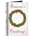 Christmas Wreath Journal