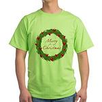 Christmas Wreath Green T-Shirt