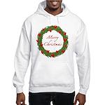 Christmas Wreath Hooded Sweatshirt