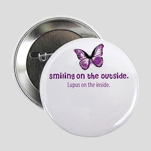 """lupus awareness shirt 2.25"""" Button"""