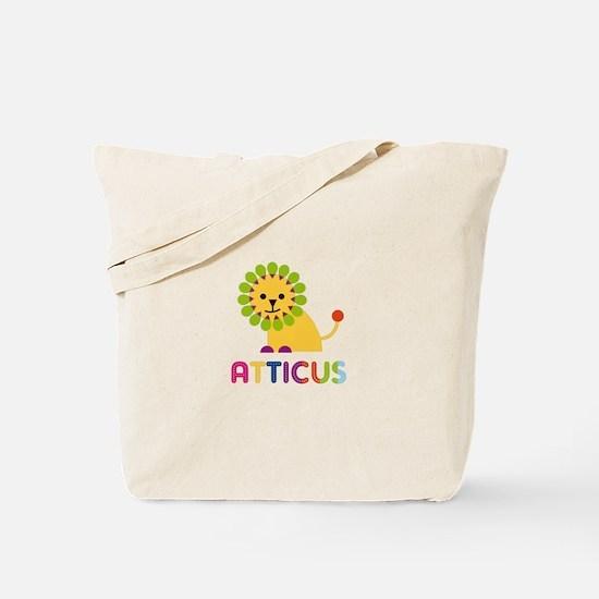 Atticus Loves Lions Tote Bag