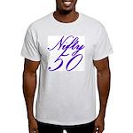 Nifty Fifty, 50th Ash Grey T-Shirt