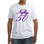 Nifty Fifty, 50th Fitted T-Shirt