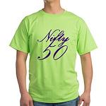 Nifty Fifty, 50th Green T-Shirt