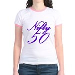 Nifty Fifty, 50th Jr. Ringer T-Shirt