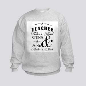 Teachers open minds Sweatshirt