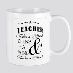 Teachers open minds Mug
