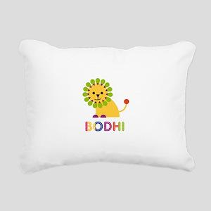 Bodhi Loves Lions Rectangular Canvas Pillow