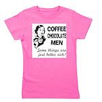 FIN-coffee-chocolate-men Girl's Tee