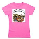 FIN-fair-trade-justice Girl's Tee